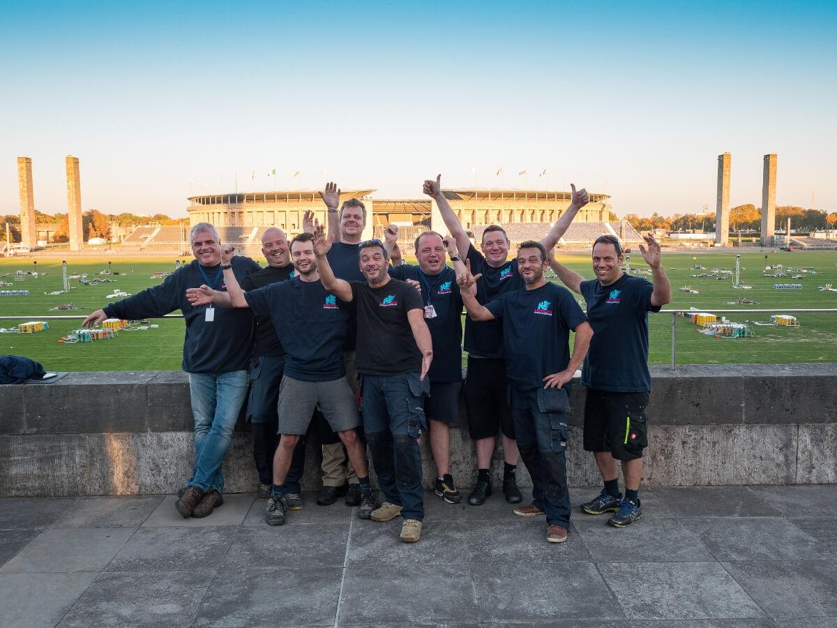 team vuurwerk bedrijf heron fireworks